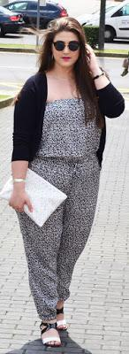 Outfit Of The Day ~ Mono Leopardo ~ Leopard Print Jumpsuit