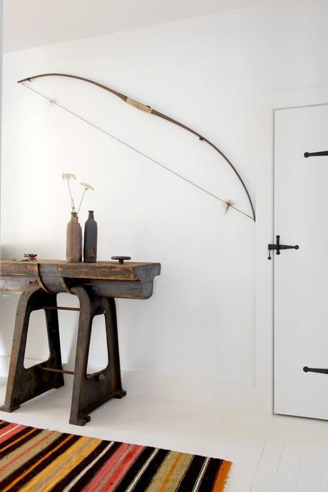 Modern country home with industrial touches in NY / Estilo country moderno con toques industriales en NY // casahaus.net