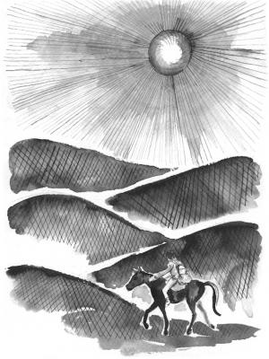 David González: El hombre de las suelas de viento: Ilustraciones de Ariadna Pedemonte:
