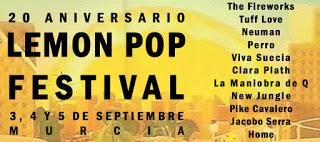 Lemon pop 2015 XX Aniversario