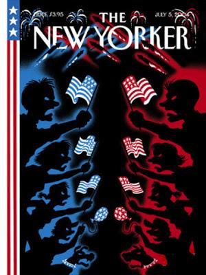 the new yorker cover 4th july 1992 christoph niemann