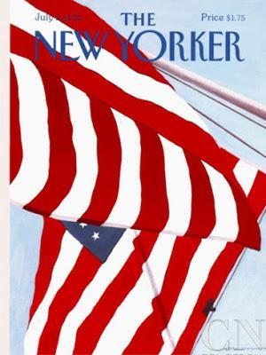 the new yorker cover 4th july 1990 gretchen dow simpson