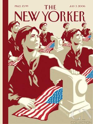 the new yorker cover 4th july 2006 christoph niemann