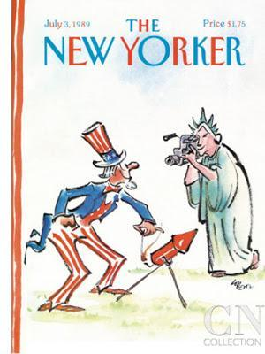 the new yorker cover 4th july 1989 lee lorenz