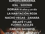 confirmaciones Granada Sound 2015 traen Nacho Vegas, Castizos, Habitación Roja Sidonie