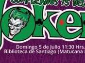 ¡Este domingo Julio, celebra Guasón #Joker75Chile!