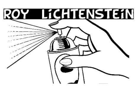 Más posters Pop Art para colorear: Roy Lichtenstein - Paperblog