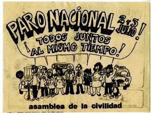 Paro Nacional 2 y 3 de julio 1986