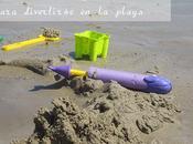 Doce juegos para niños diviertan playa