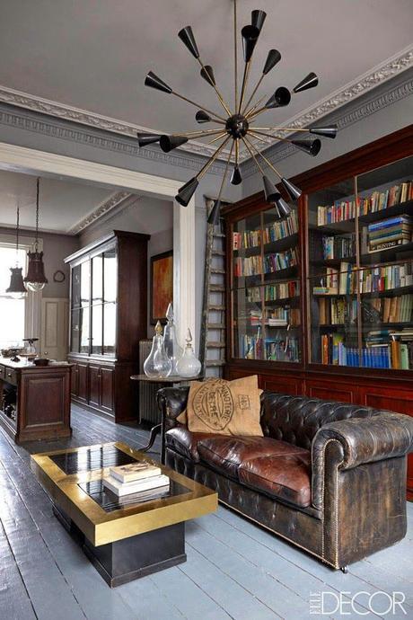 El sofá Chester: Una pieza vintage que combina con todos los estilos.