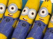 Plátanos disfrazados Minions para merendar