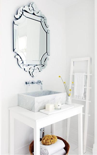 10 espejos de ba o modernos y funcionales paperblog - Espejos bano modernos ...