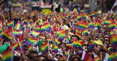 Apple en el San Francisco Pride Parade