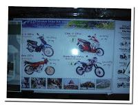 rent bikes in Laos Prices