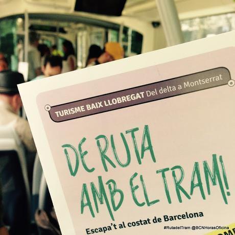 DE RUTA CON EL TRAM POR EL BAIX LLOBREGAT