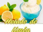Helado limón casero
