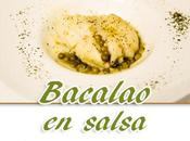 Bacalao salsa hierbas