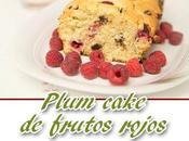 Plum cake frutos rojos chocolate