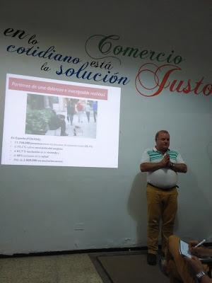 Charla coloquio en torno a la relación de Cáritas con la Economía Solidaria