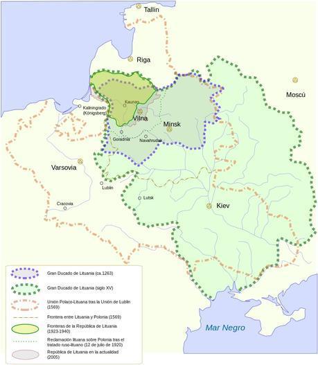 Lituania historia
