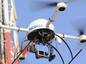 Nokia podría usar drones para reparar redes