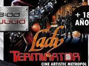 VHZ: cara Blockbusters. Lady Terminator
