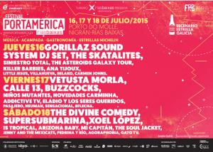 Cartel PortAmérica Rías Baixas - Solo Festival