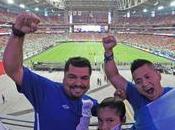 Phoenix pintó Azul Blanco para juego Guatemala-México