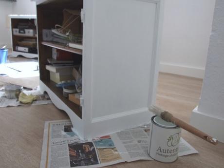 Pintar los muebles del sal n con chalk paint paperblog - Muebles del salon ...