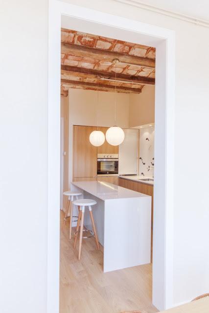 Dise o interior en piso de barcelona paperblog - Diseno interior barcelona ...