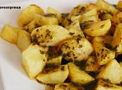 Patatas salsa chimichurri