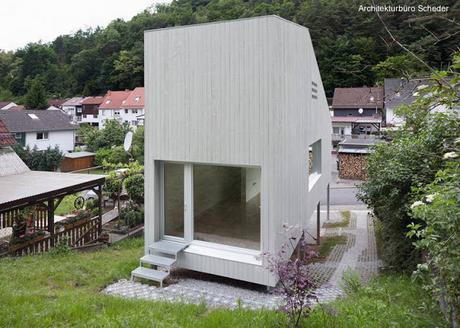 Dise os de casas peque as modernas paperblog Disenos de casas contemporaneas pequenas
