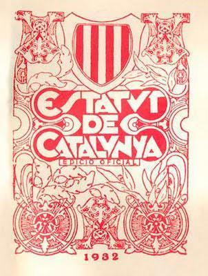 estatuto catalan de 1932