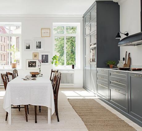 Una cocina cl sica muy moderna paperblog - Cocinas muy modernas ...