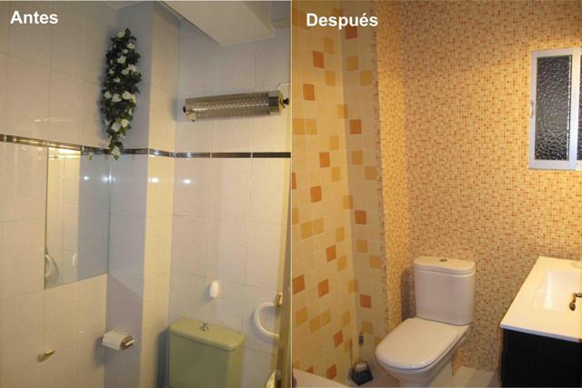 Azulejos Para Baño Bricor: lo que una obra supone descubrí el papel para el cuarto de baño