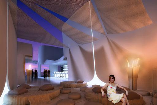 A cero dise a la arquitectura y el interiorismo de la - Decoracion chill out interiores ...