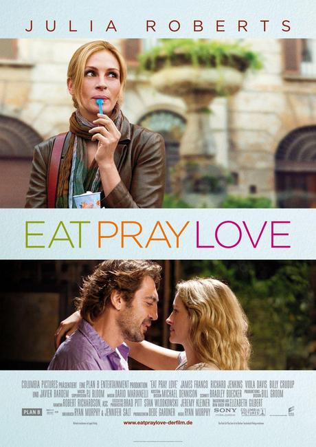 Eat, Pray, Love (Come Reza y Ama) Deliciosamente Vomitiva