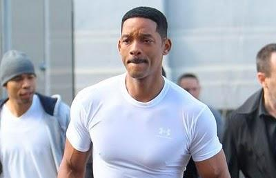 Fotos de Will Smith y Tommy Lee Jones en el rodaje de 'Men in Black 3'