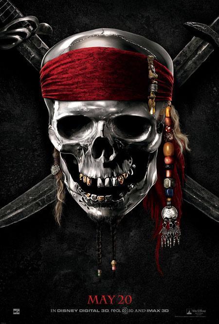 "Teaserposter de ""Piratas del Caribe 4″"