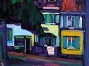 "Capricho artístico: ""Murnau, Casas Obermarkt"". Wassily Kandinsky"