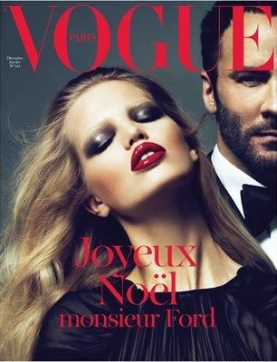 Tom Ford´s Vogue Paris december 2010-january 2011