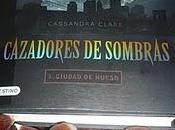 """""""Cazadores sombras Ciudad hueso"""" Cassandra Clare"""