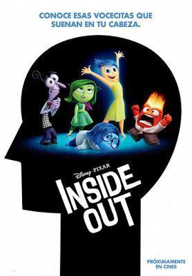 Del revés (Inside Out), de Pete Docter y Ronaldo Del Carmen. La nueva película de Disney-Pixar