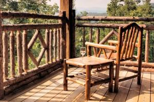 Decore su terraza al estilo rústico