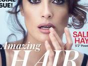 Salma Hayek posa toples para Allure Magazine