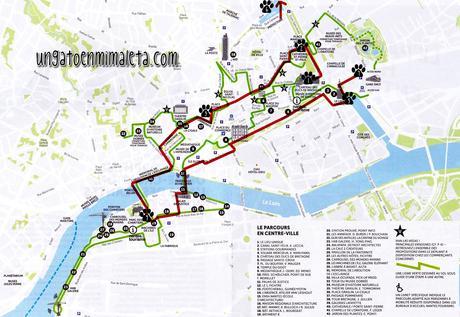 ruta mapa nantes