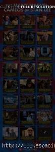 Infografía de cameos de Stan Lee