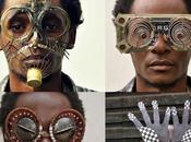 Deslumbrantes gafas hechas desperdicios electrónicos
