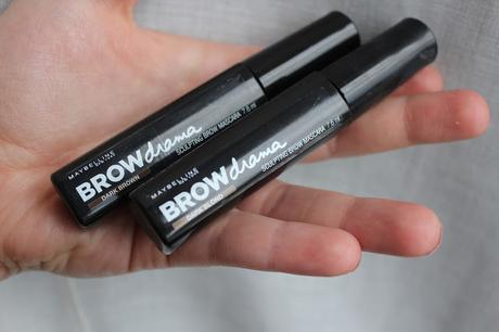 Browdrama de Maybelline: Dark Blond y Dark Brown