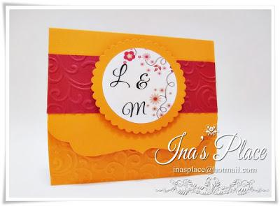 Summer Color Trends - Wedding Invitations - Orange - Tangerine & Classic Blue.